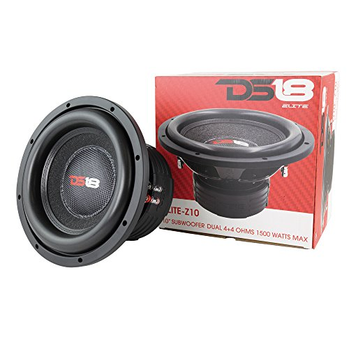 (DS18 Z10.2pk Z10 Elite Pair of 1500W Max 750W Rms Dual Voice Coil 10