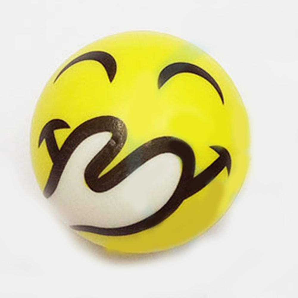 Linier Emoji antipelusas antiestrés con Caras Grandes, 6 Pelotas ...