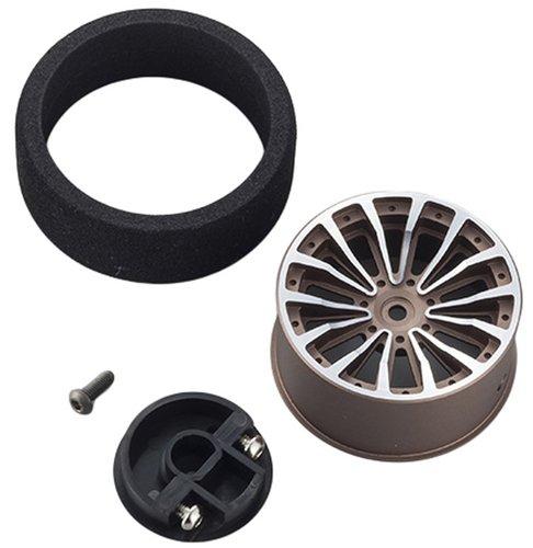KO Propo Aluminum Steering Wheel (Gun Metal)