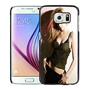 New Personalized Custom Designed For Samsung Galaxy S6 Phone Case For Avril Lavigne Phone Case Cover
