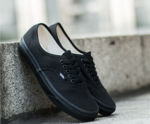 Vans Unisex Authentic Canvas Shoes Black/Black free shipping deals store cheapest price online find great cheap online OcDeXgqyDy