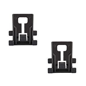 Ketofa W10195840 Dishwasher Rack Adjuster Positioner Compatible Whirlpool Kenmore Kitchenaid Dishwashers Replace WPW10195840 PS11750093 W10418323 Arm Positioner Clip