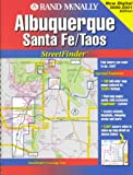 Rand McNally Streetfinder Albuquerque/Santa Fe, New Mexico, Rand McNally Staff, 0528986961