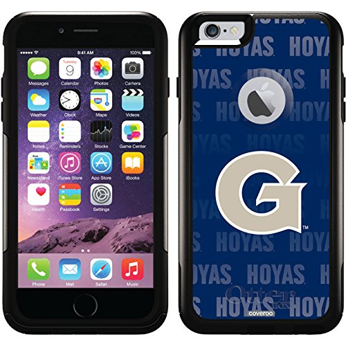 Coveroo Commuter Series Case for iPhone 6 Plus - Retail Packaging - Georgetown University Repeating by Coveroo (Image #3)