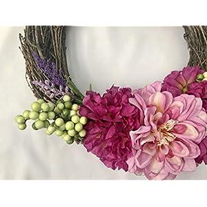 Peony Grapevine Wreath 2