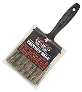 Wooster Brush Z1101-4 Factory Sale Gray Bristle Paintbrush, 4-Inch