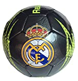 Real Madrid Official SOCCER Full Size 5 Soccer Ball (Black L1Y27)