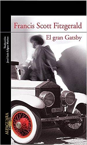 Resultado de imagen de El gran Gatsby, F. Scott Fitzgerald alfaguara 2019