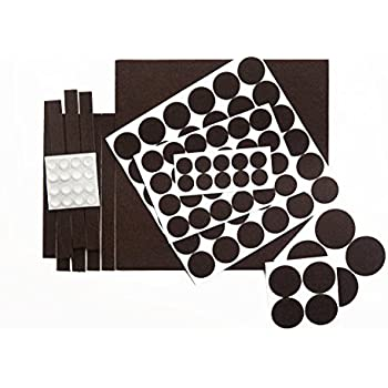 This item OUR HOUSE Premium Pack Furniture Pads - Felt Pads Furniture Feet  Popular Sizes & Rubber Bumper Pads - Protect Your Wood Floor Hardwood &  Laminate ...