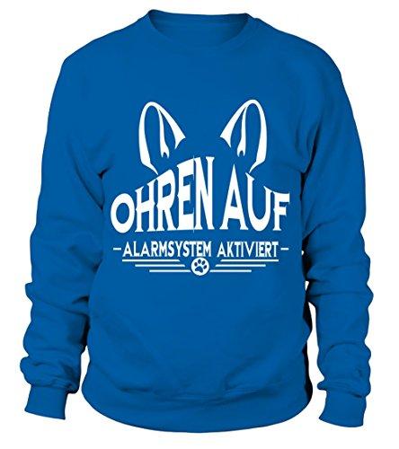 IchLiebeHunde.com - Sudadera con capucha - para mujer azul real XL