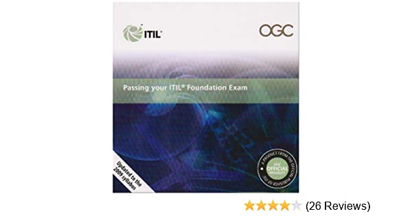 Amazon Com Passing Your Itil Foundation Exam The Itil Foundation