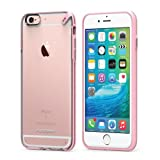 Slim Shell Case for iPhone 6s/6 - Clear/Soft Pink