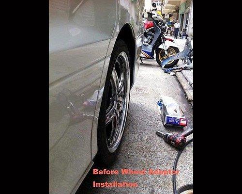 Autobahn88 0.8'' (20mm) Universal Vehicle Wheel Spacer, 5x4.5'' to 5x4.5'' (5x114.3mm to 5x114.3mm), P1.5 M12, Center Bore 2.9'' (74.1mm) - Pack of 2 by autobahn88 (Image #3)