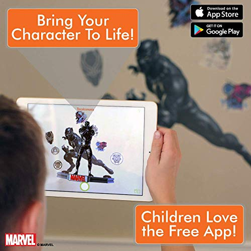 4143ddff Marvel Black Panther Wall Decal – Augmented Reality Black Panther ...