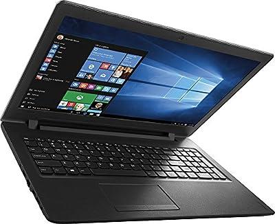 2017 Newest Lenovo IdeaPad 15.6'' High Performance Premium HD Laptop, Intel Dual-Core N3060 Processor, 4GB RAM, 500GB HDD, DVD/CD Burner, HDMI, 802.11AC, Bluetooth, Webcam, Windows 10, Black