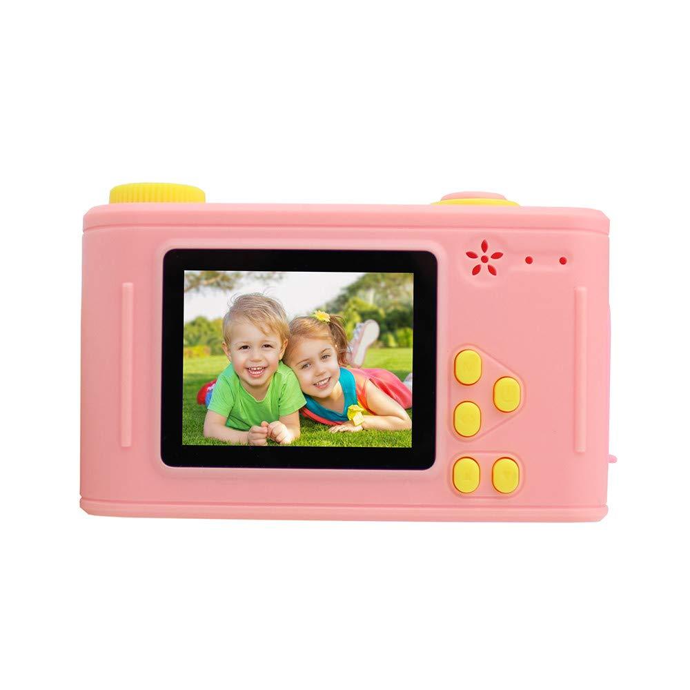 certainPL デジタルカメラ 5.0MP 1.5インチ 1080P LCD ミニビデオレコーダー クリスマスギフト 子供用  ピンク B07K72XKTM