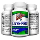 Liver-Pro Health Support Supplement - Complex - Natural Liver Supplements - Pills - 90 Capsules