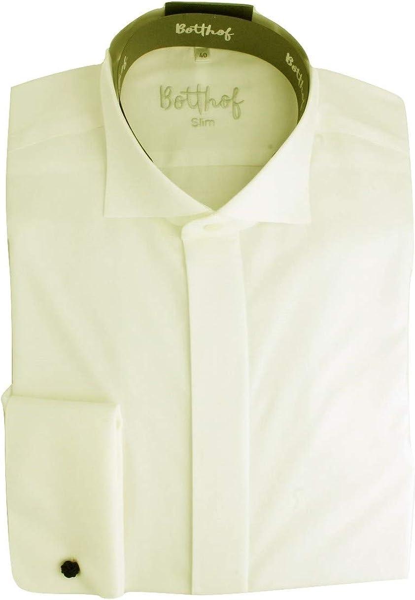 Botthof Slimline - Camisa de manga larga para smoking, color ...