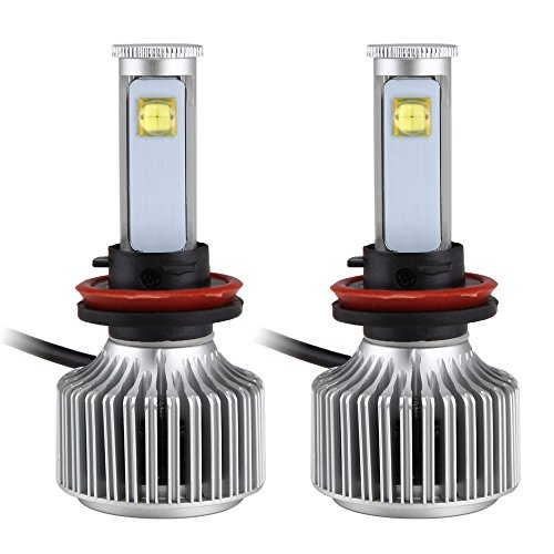 LED Headlight, 3600Lumes CREE LED bulbs, H7, 40W 6000K, All-in One Car Automotive Headlight Conversion Kit
