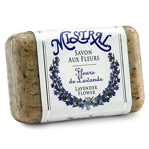 Mistral Shea Butter Soap, Lavender Flower, 7-Ounce Bar by Mistral