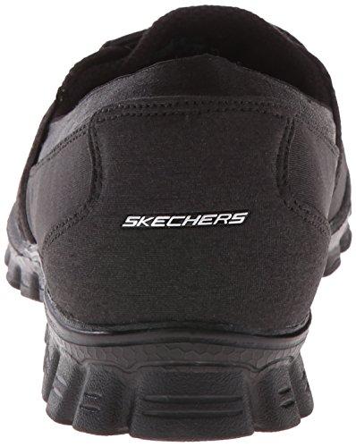 Skechers Sport Donna Ez Flex Flicker Slip-on Sneaker Nero Suoneria