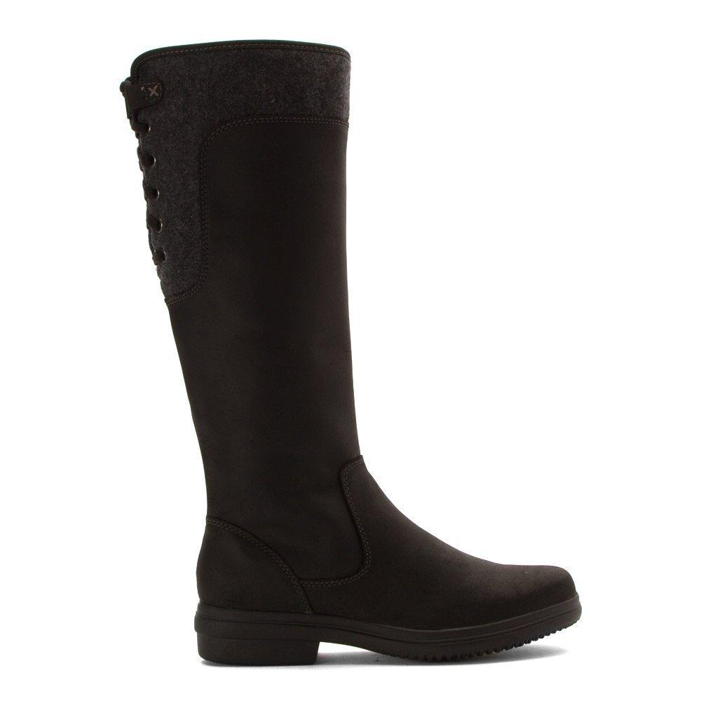 CLARKS Women's Tavoy Cedar Boots B0196UD6WS 7 B(M) US|Black Leather