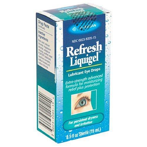 Gouttes rafraîchir Liquigel oculaires lubrifiantes pour sécheresse et l'irritation, 0,5 onces liquides stérile (15 ml)