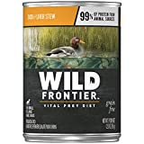 Wild Frontier Vital Prey Wet Dog Food Duck & Liver...