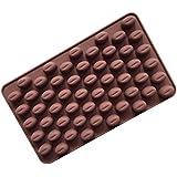 LeafIn チョコレート専用 お菓子 アメ キャンディー 半円 半球 円 球 シリコンモールド/手作り 石鹸 樹脂 粘土 シリコン モールド 型 抜き型 キット 道具 (チョコ)