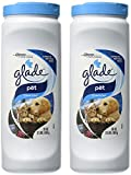 Glade Carpet & Room Refresher - Pet - Clean Scent - Eliminates Deep Down Odors - Net Wt. 32 OZ (907 g) Per Container - Pack of 2 Containers