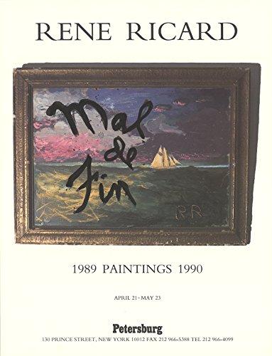 rene-ricard-mal-de-fin-1989-poster