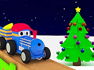 Learn Colors with Ted The Train : Christmas Tree / Christmas Gifts