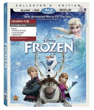 Frozen Blu Ray