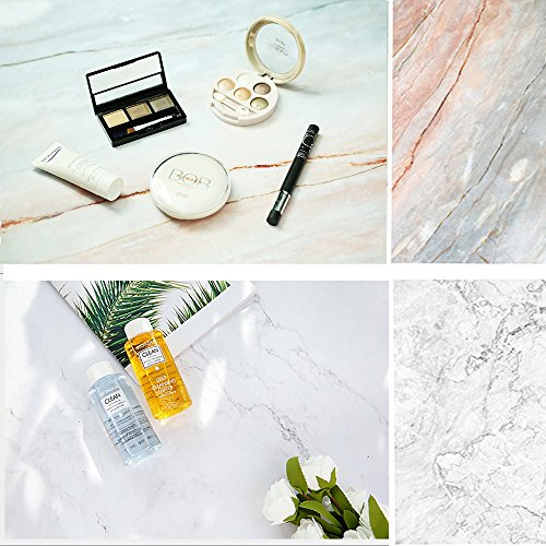 Evanto 22x35 Inch (56x88cm) 2-in-1 Cracked Marble Texture Background Flat Lay Tabletop Photography Backdrop Paper for Food, Jewelry, Cosmetics, Small Products, Photo Pros - Background Board