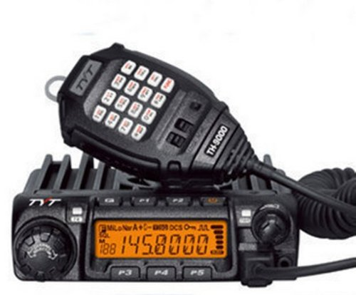 TYT TH-9000 Vehicle-Mounted 60 Watt Handheld Transceiver Amateur Ham Radio, Vhf 136-174MHz TH-9000D