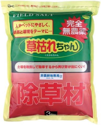 (3個まとめ売り) 旭東 除草材「草枯れちゃん」3kg 877365