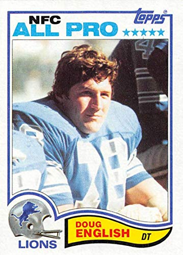 - 1982 Topps Football #337 Doug English Detroit Lions AP