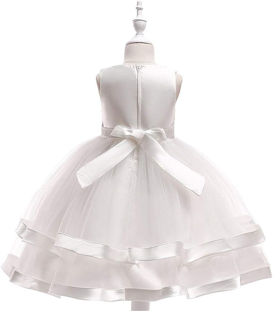 COMISARA 6M-9T Kids Pageant Flower Girl Dress Little Girls Party Wedding Formal Dresses