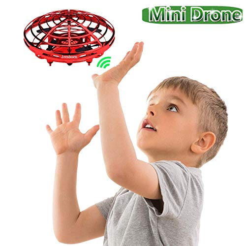 UFO Flying Ball Drone Toys, Jresboen [updated] Mini Drone Helicopter Infrared Sensing & Automatic Obstacle Avoidance Mini Quadcopter Drone Induction Aircraft Flying Saucer Toy Gift for Boys Girls Kids by Jresboen (Image #7)