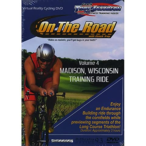 Spinervals Virtual Reality 4.0 Madison Training Ride DVD (Virtual Fitness Dvds)