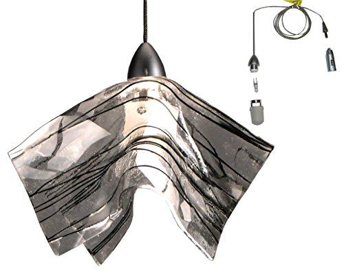 - Meyda Tiffany 19661 Metro Fusion Branches Handkerchief Mini Pendant Light Fixture, 8