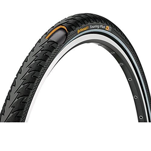 Touring Bike Tires (Continental Touring Plus Reflex Bike Tire, Black, 700cm x 47)