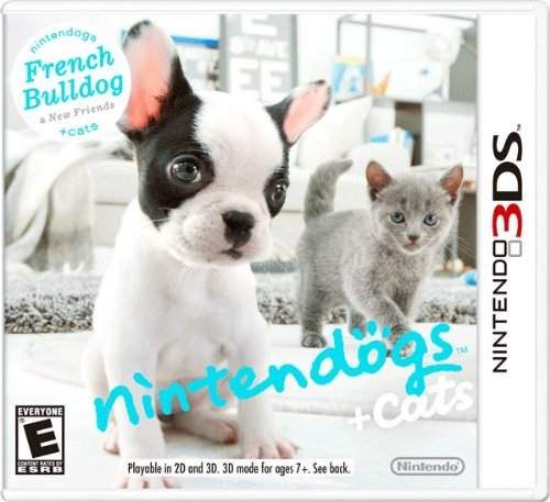 Nintendogs + Cats:  French Bulldog and New - For Dogs Nintendo Ds