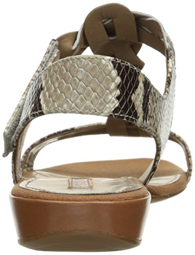 Ecco Vrouwen Vrouwen Bouillion Knoop T-strap Ii Dress Sandaal Cognac / Sage