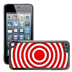 Etui Housse Coque de Protection Cover Rigide pour // M00151319 Resumen Antecedentes Círculos de color // Apple ipod Touch 5 5G 5th