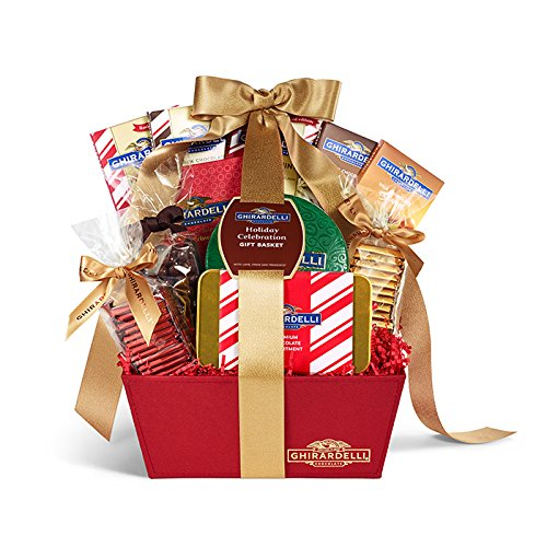 Ghirardelli Holiday Celebration Gift Basket