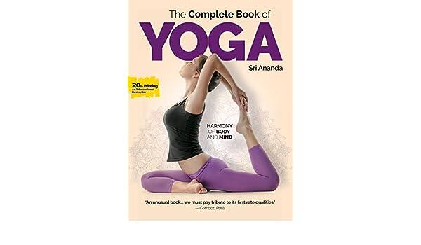 Complete Book of Yoga (English Edition) eBook: Sri Ananda ...
