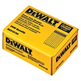 DEWALT DCS16150 1-1/2-Inch by 16 Gauge Finish Nail, 2,500 per Box
