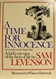 A Time for Innocence, Sam Levenson and Whitney Darrow, 0671227793