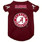 Alabama Crimson Tide Pet Dog Football Jersey Alternate LARGE